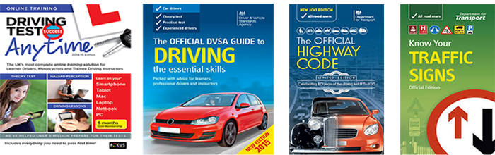Choose between a Free Driving Theory Test or Learner Pack